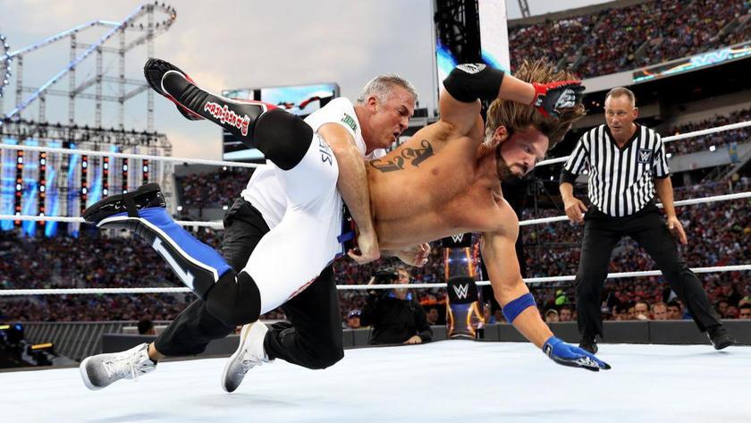 Ric flair vs shawn michaels wrestlemania 24 latino dating