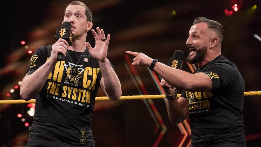 Shane Thorne def  Joaquin Wilde | WWE