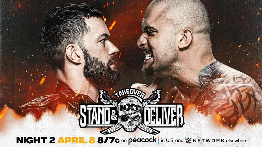 NXT Champion Finn Bálor vs. Karrion Kross w/Scarlett   WWE