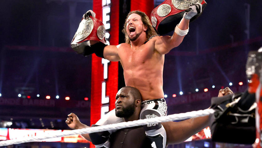 WWE Announces First Post-WrestleMania 37 Appearance For AJ Styles And Omos