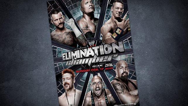 Image result for wwe.com elimination chamber 2013 poster