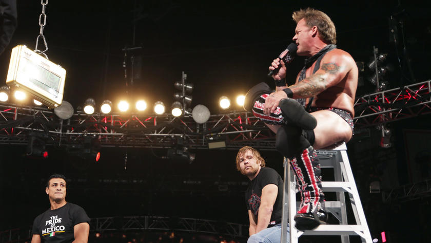 Chris Jericho insists he won the match in the past.