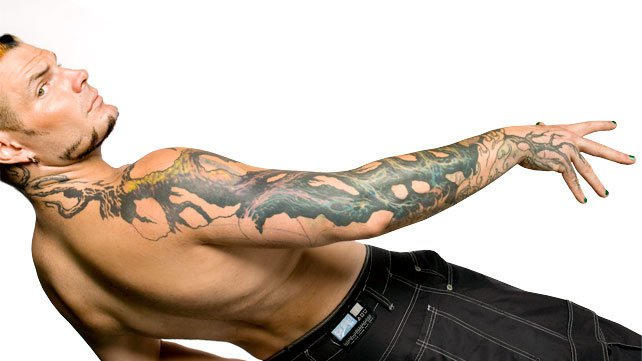 The 20 Coolest Tattoos In Wwe History Wwe