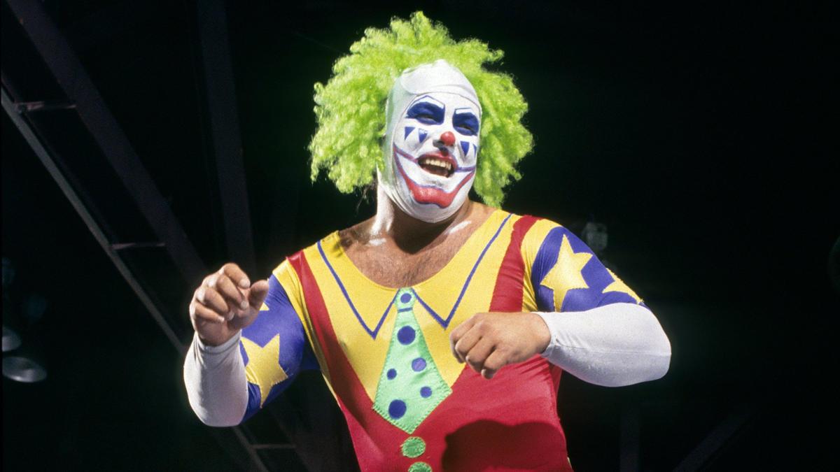 Halloween wrestler WWE