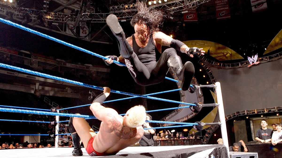 every one of the undertaker s signature moves ranked wwe