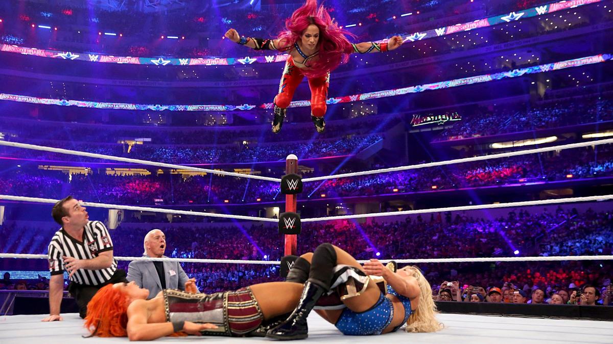 Ivory vs Chyna WWF Womens Championship WrestleMania X