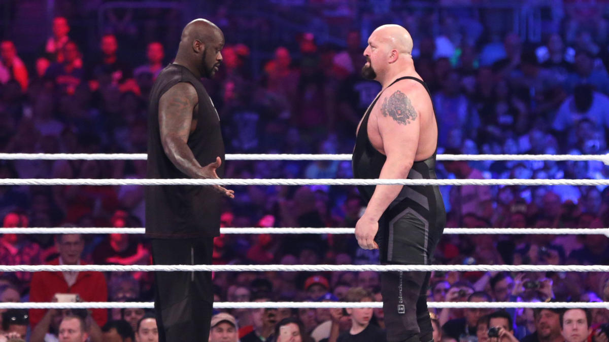 Image result for shaquille o'neal vs big show