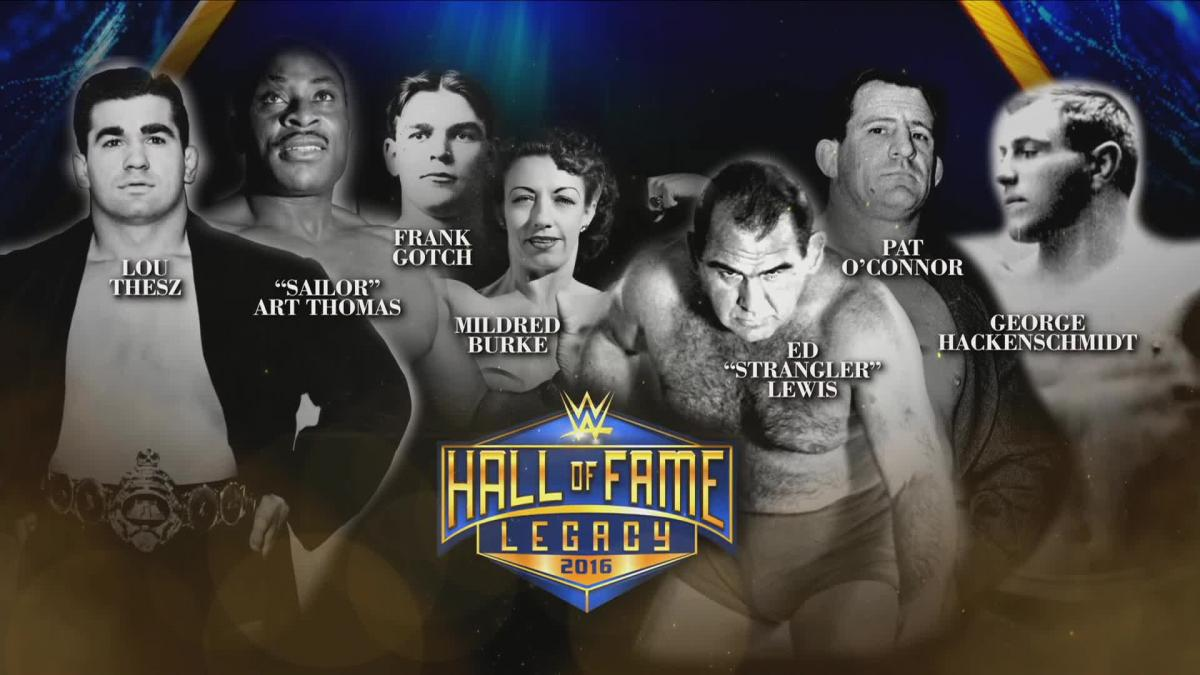 WWE Network: Congratulations to the 2016 Legacy Inductees ...