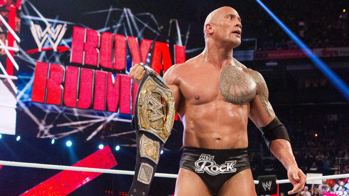 Image result for the rock wwe champion