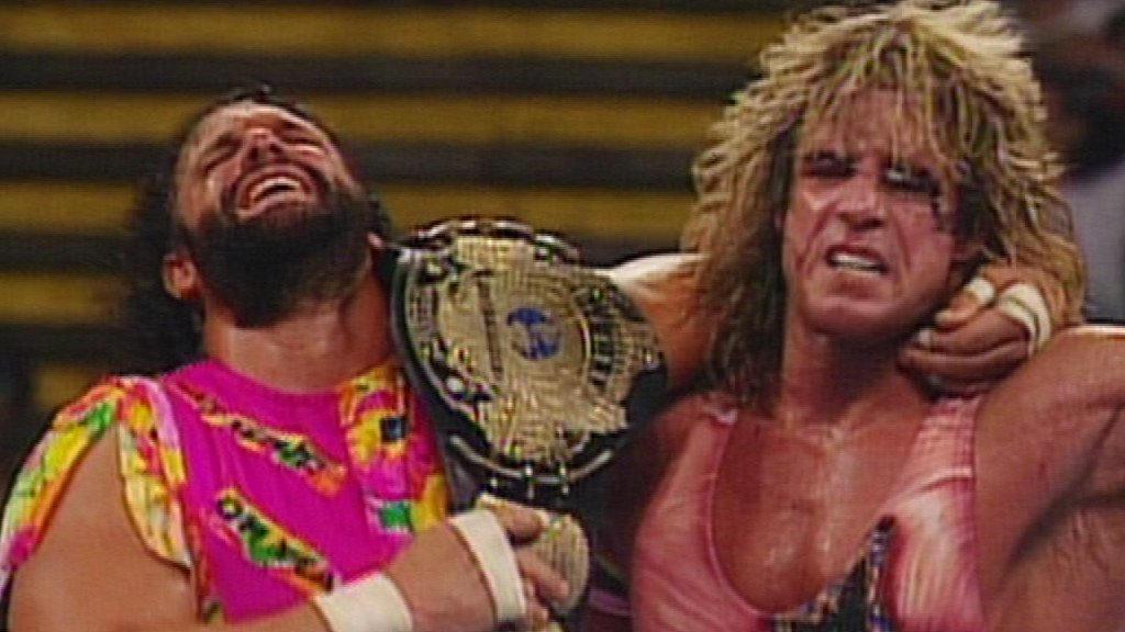 نتيجة بحث الصور عن wwe randy savage 1992