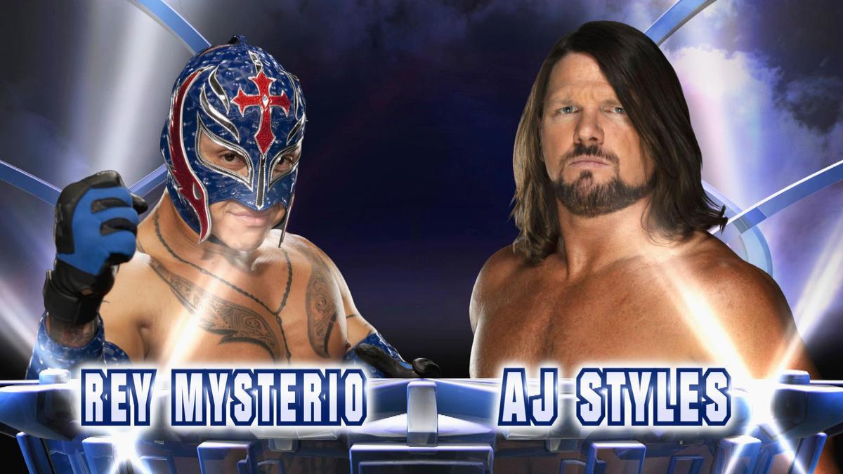 AJ Styles vs. Rey Mysterio: Fantasy Warfare | WWE