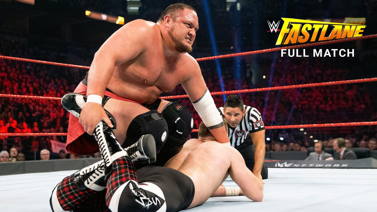 Samoa Joe vs. Sami Zayn: WWE Fastlane 2017 (Full match ...