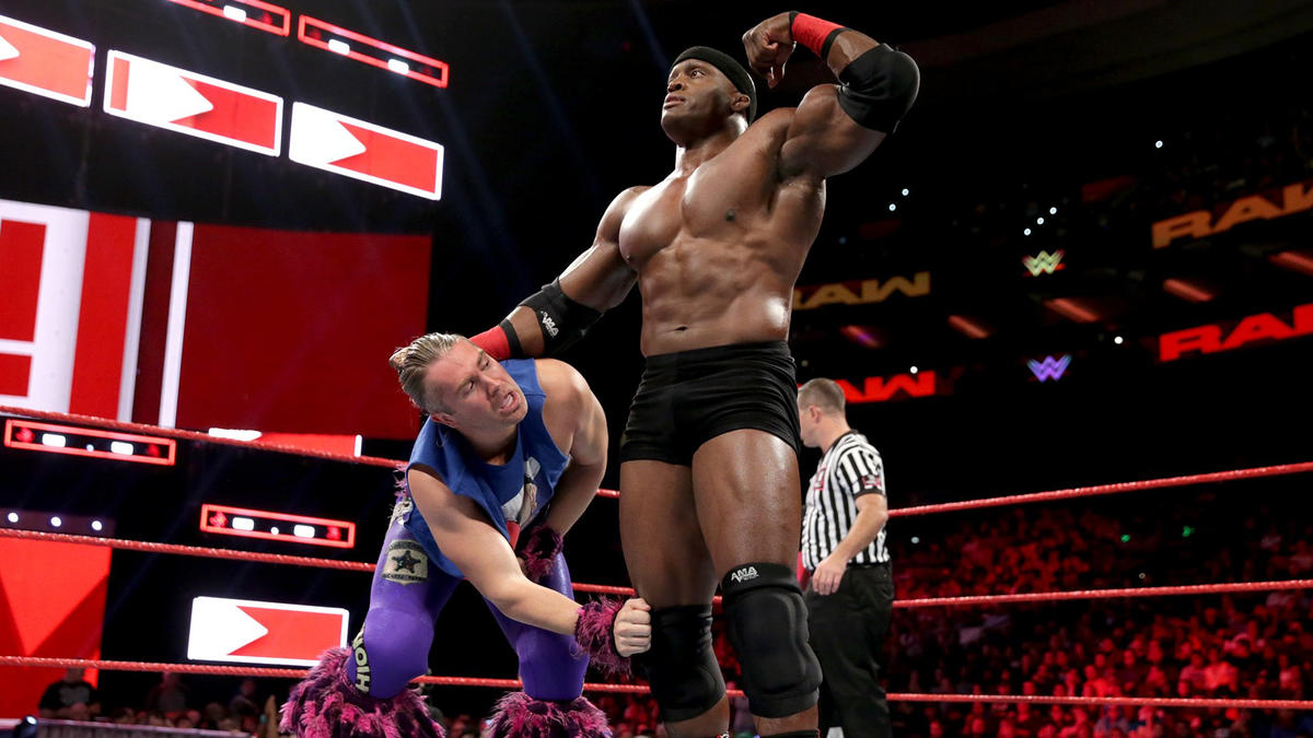 Tyler Breeze Vs Bobby Lashley Raw Oct 15 2018 Wwe