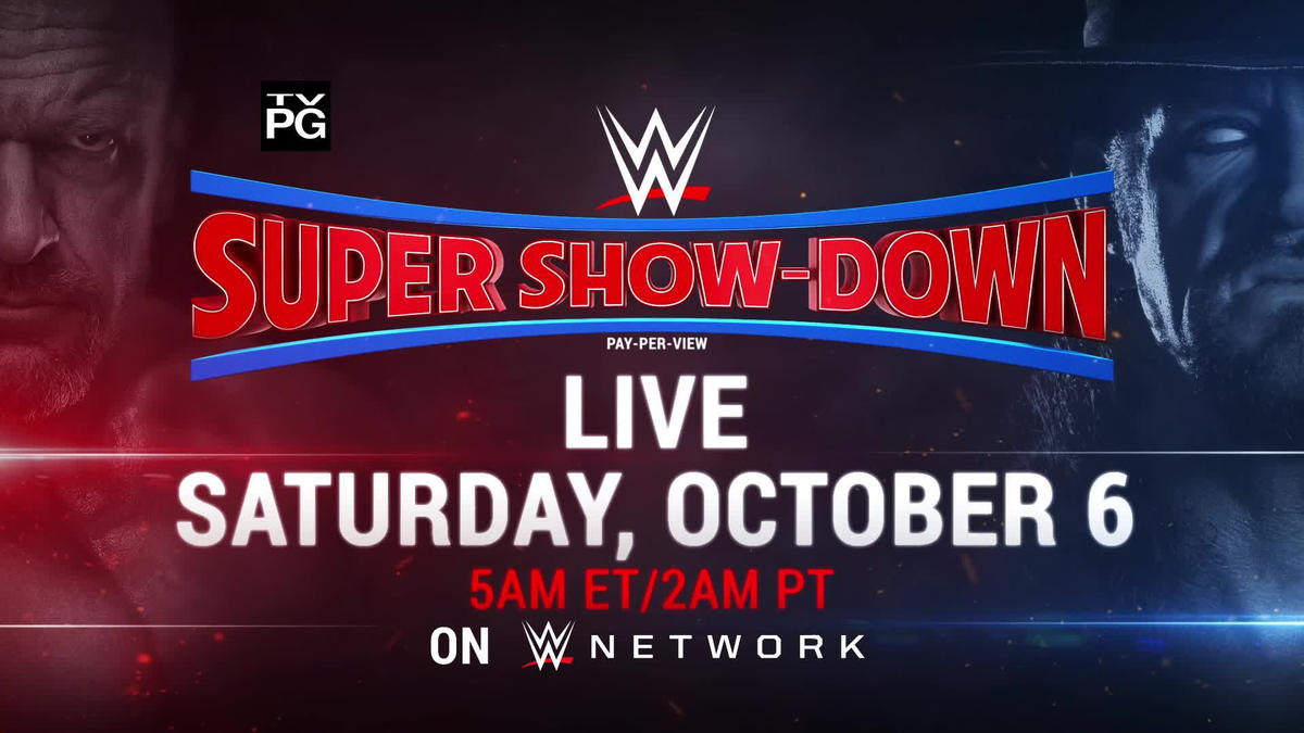 Image result for WWE Super Show-Down, which will air Saturday from 5AM ET