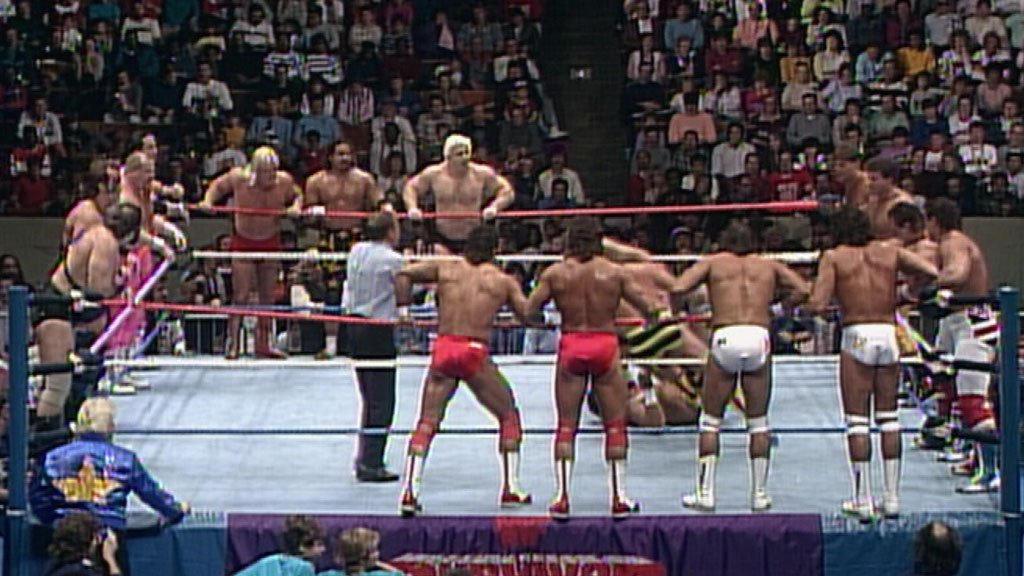 20-Man Tag Team Survivor Series Elimination Match: Survivor Series 1987 | WWE
