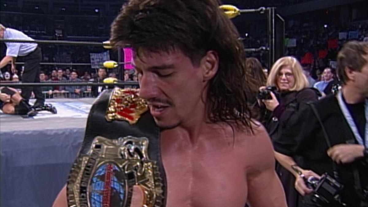 Eddie Guerrero vs. Dean Malenko - Cruiserweight Championship Match: WCW Starrcade 1997 | WWE