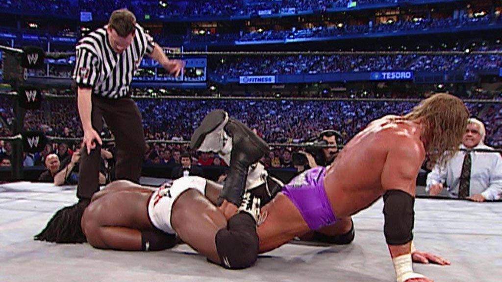 Booker T vs. Triple H: World Heavyweight Championship Match ...