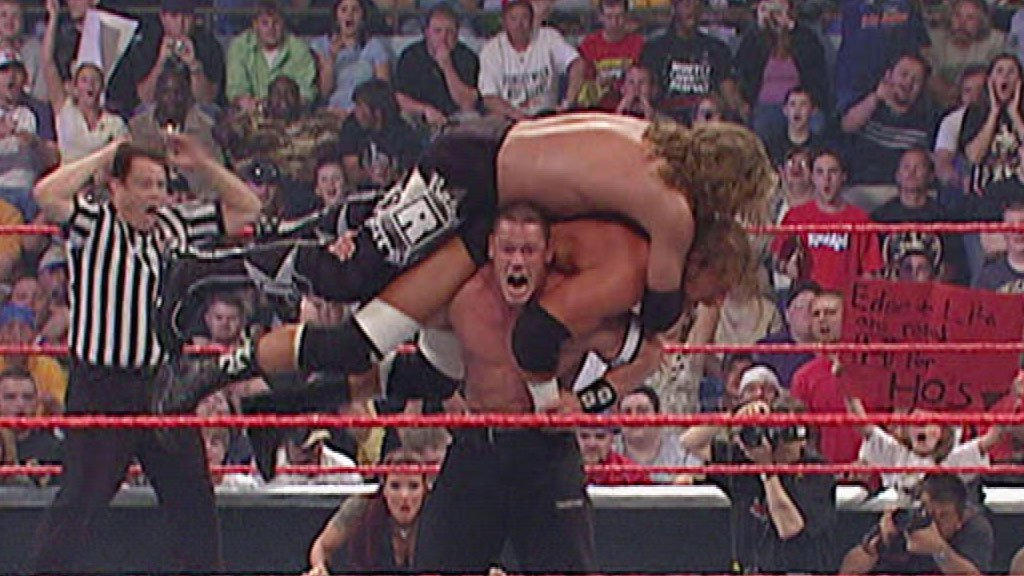 Image result for WWE Backlash 2006 John Cena vs HHH vs Edge wwe.com