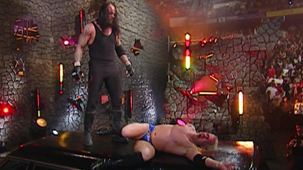 Resultado de imagem para The Undertaker vs. Mr Kennedy - Armageddon 2006