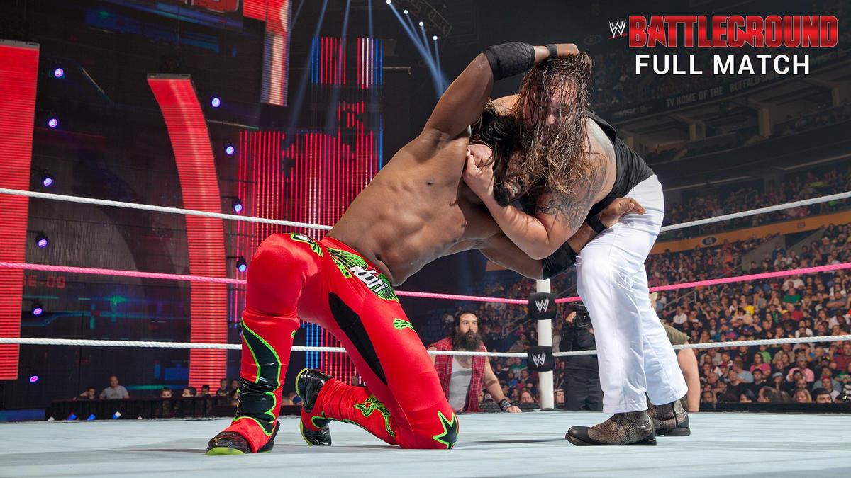 Image result for WWE Battleground 2013 Kofi Kingston vs Bray Wyatt