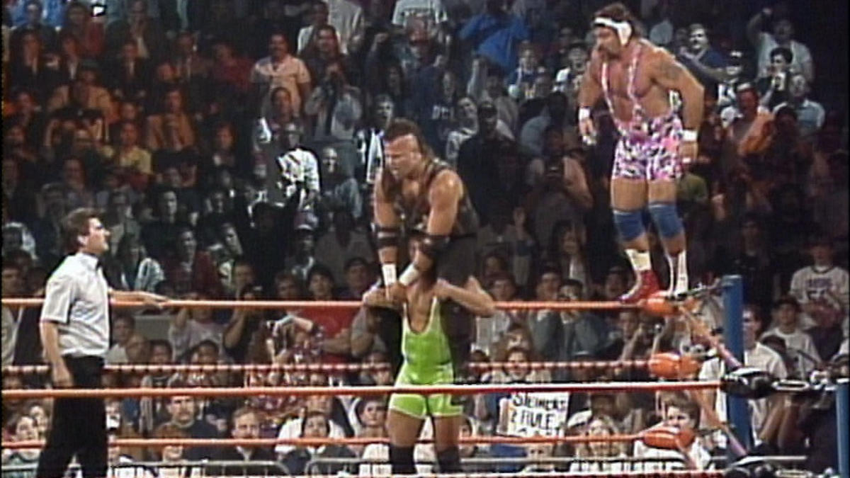 Image result for wcw halloween havoc 1990 The Nasty Boys vs The Steiner Brothers