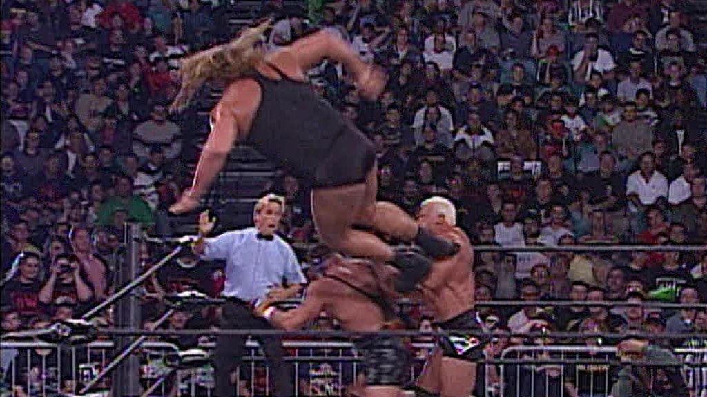 Big Show & Scott Steiner vs. Rick Steiner & Buff Bagwell: Nitro, October 26, 1998 | WWE