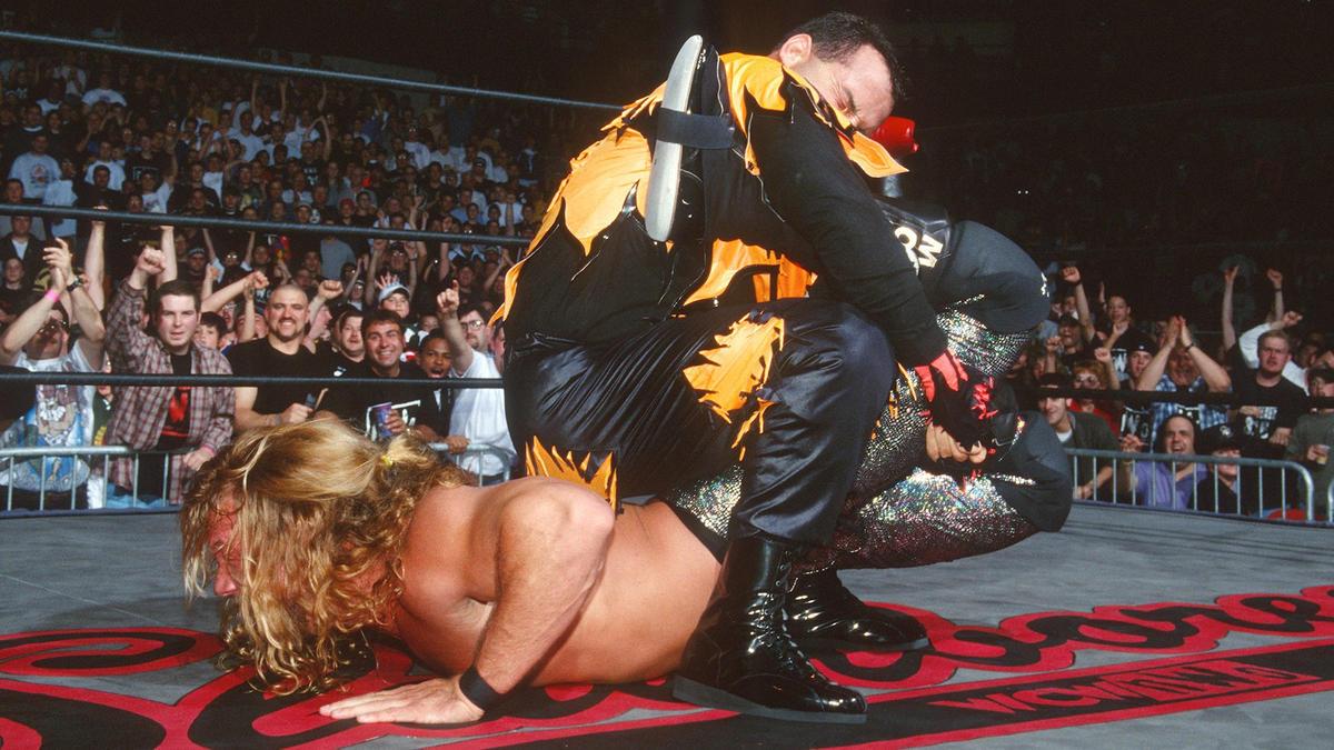 Chris Jericho vs. Dean Malenko - Cruiserweight Championship Match ...