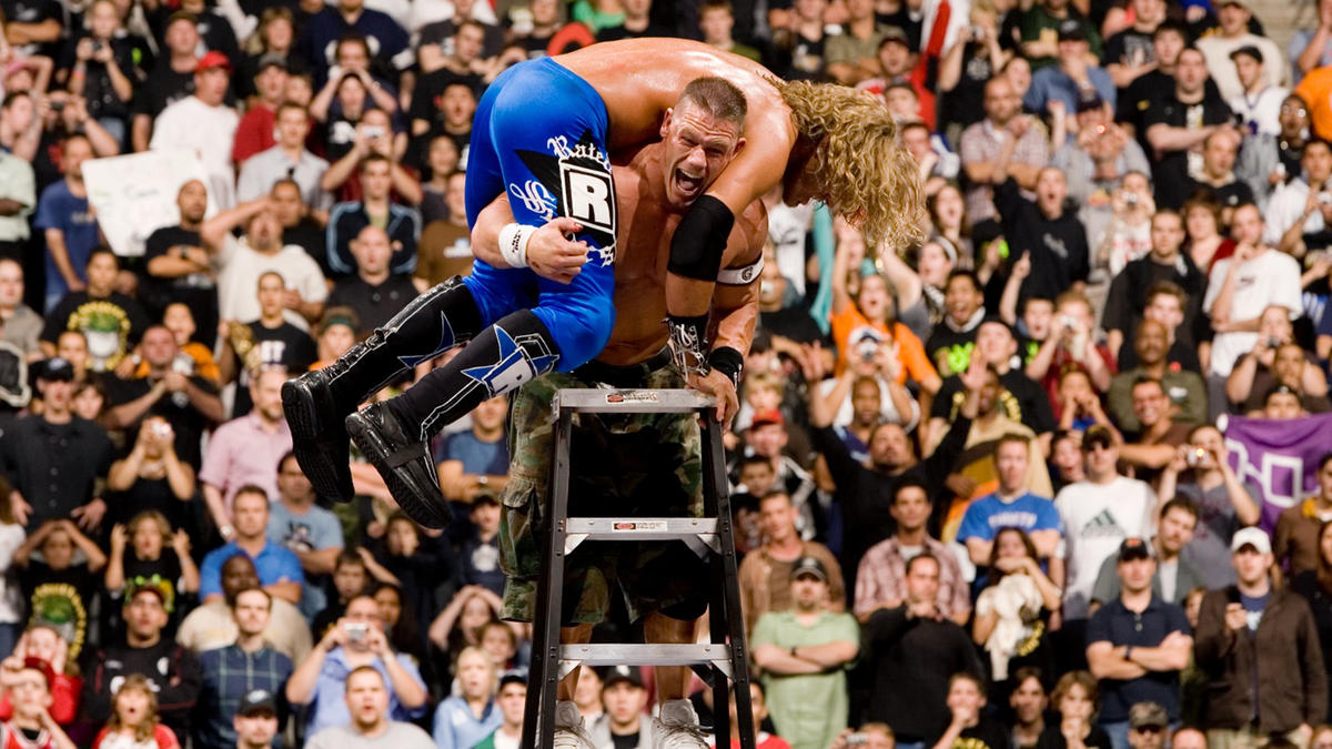 John Cena vs. Edge - WWE Championship Tables, Ladders & Chairs Match: Unforgiven  2006 | WWE