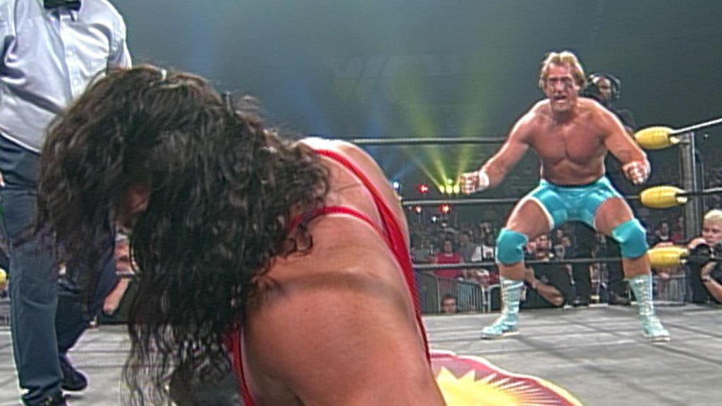 "Kevin Greene, Ric Flair & ""Rowdy"" Roddy Piper vs. Kevin Nash, Scott Hall & Syxx: Slamboree 1997   WWE"