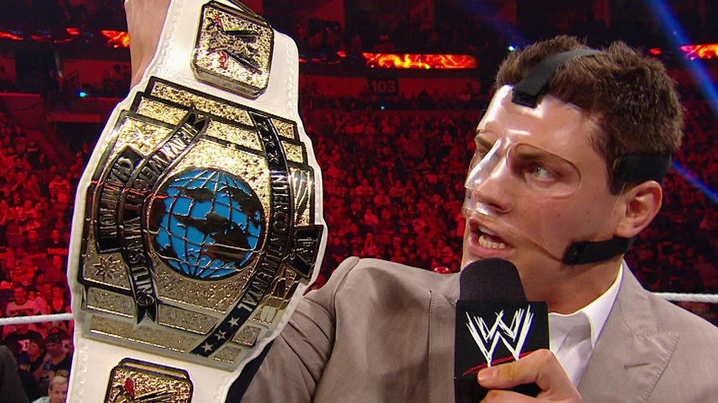 Image result for cody rhodes introduces ic title
