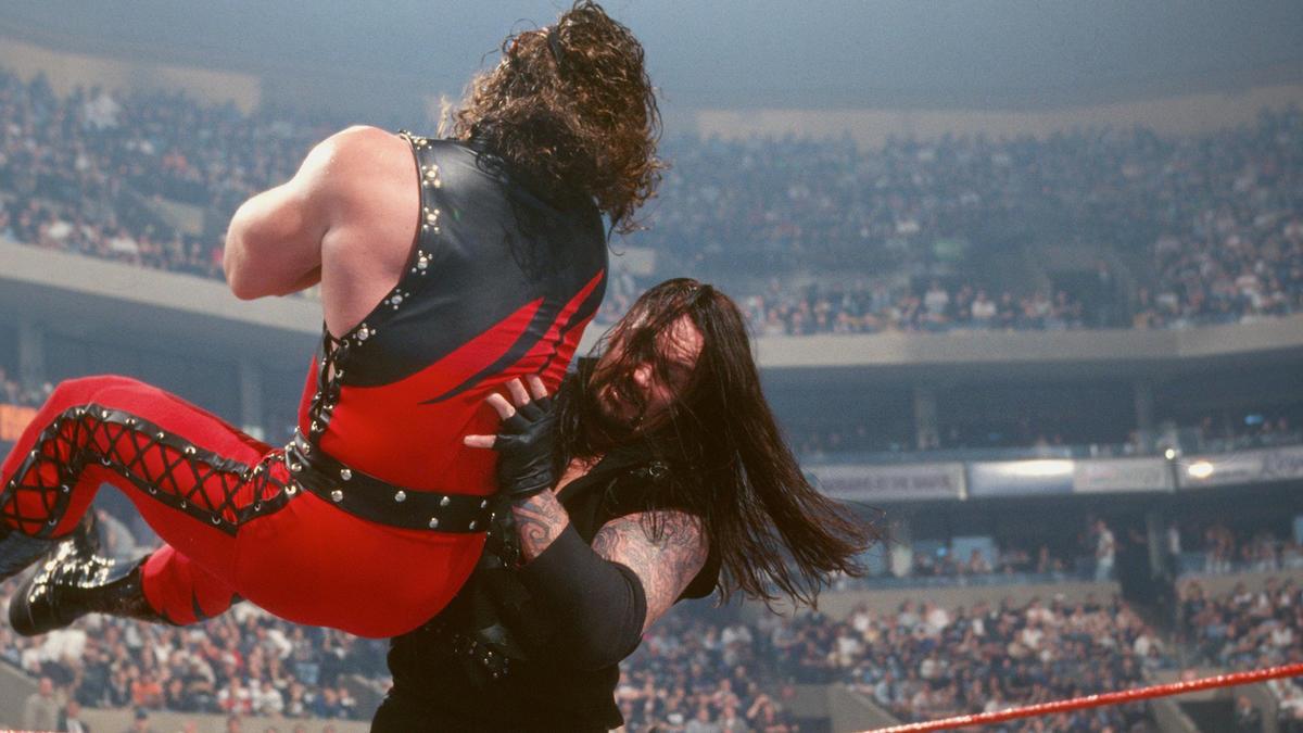 The Undertaker vs. Kane: WrestleMania XIV   WWE