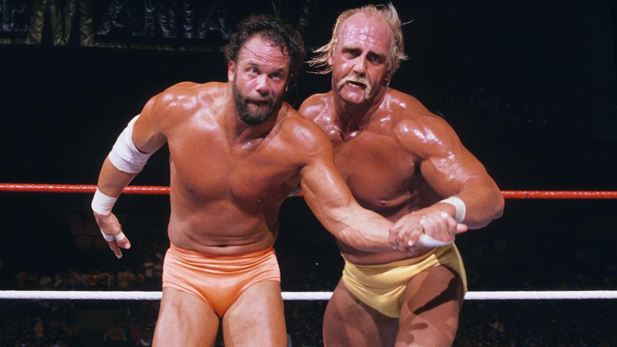 "Hulk Hogan vs. ""Macho Man"" Randy Savage - WWE Championship Match: WrestleMania 5   WWE"