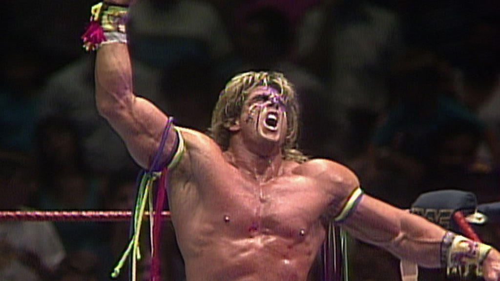 Ultimate Warrior vs. The Undertaker: Body Bag Match - July ...