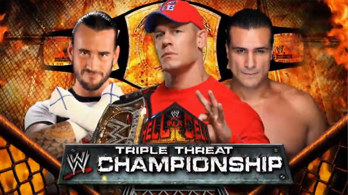 Image result for hell in a cell 2011 cena