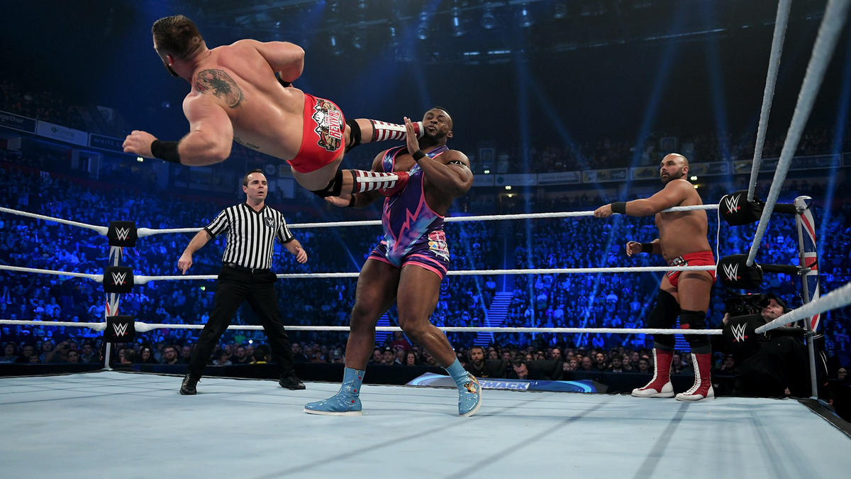 the revival vs the new day en sd live