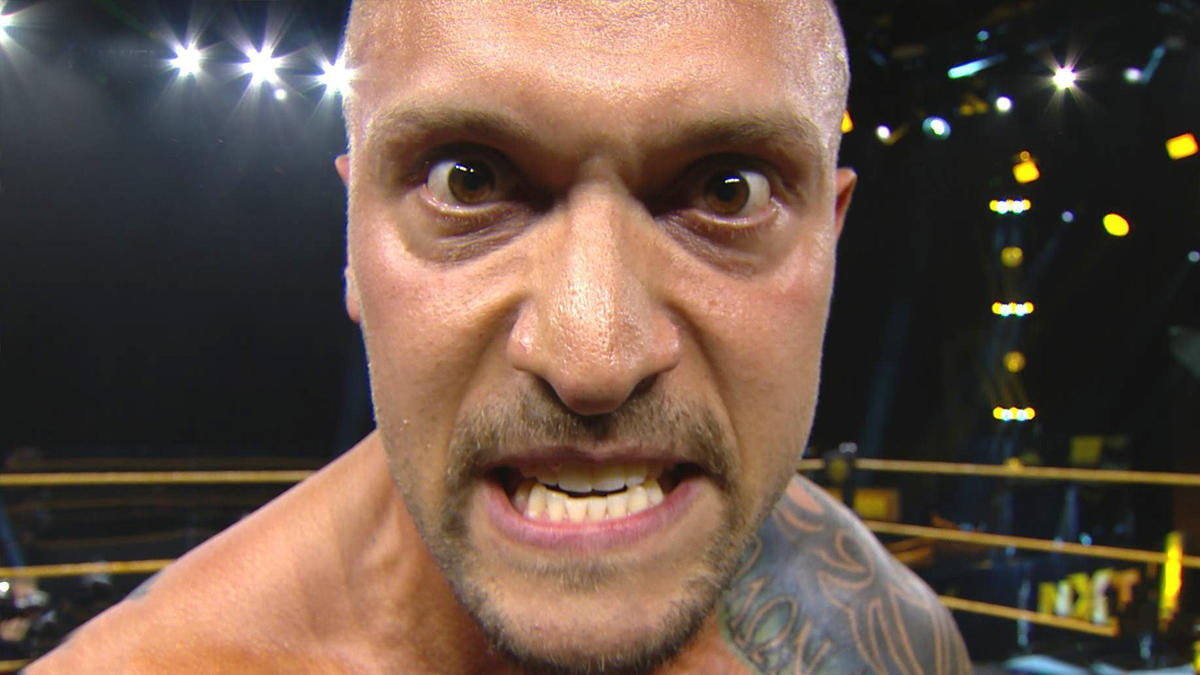 Karrion Kross sends a violent message to Tommaso Ciampa: WWE NXT ...