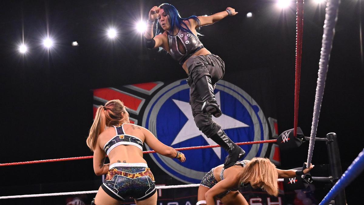 NXT Women's Title No. 1 Contender's Fatal 4-Way Elimination Match ...