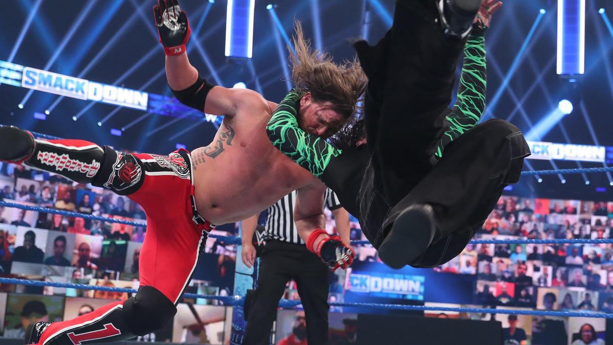Jeff Hardy vs. AJ Styles – Intercontinental Championship Match: SmackDown, August 21, 2020 | WWE