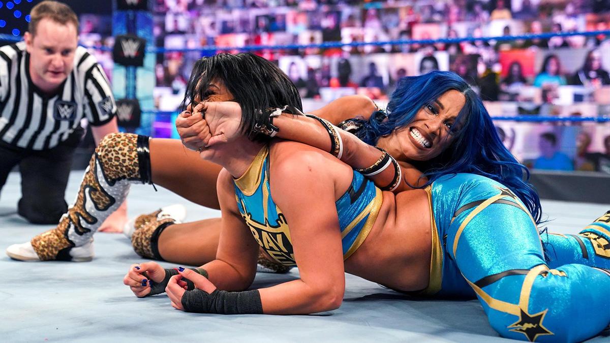 Sasha Banks Believes COVID-19 Pandemic Upped In-Ring Skills In WWE 1