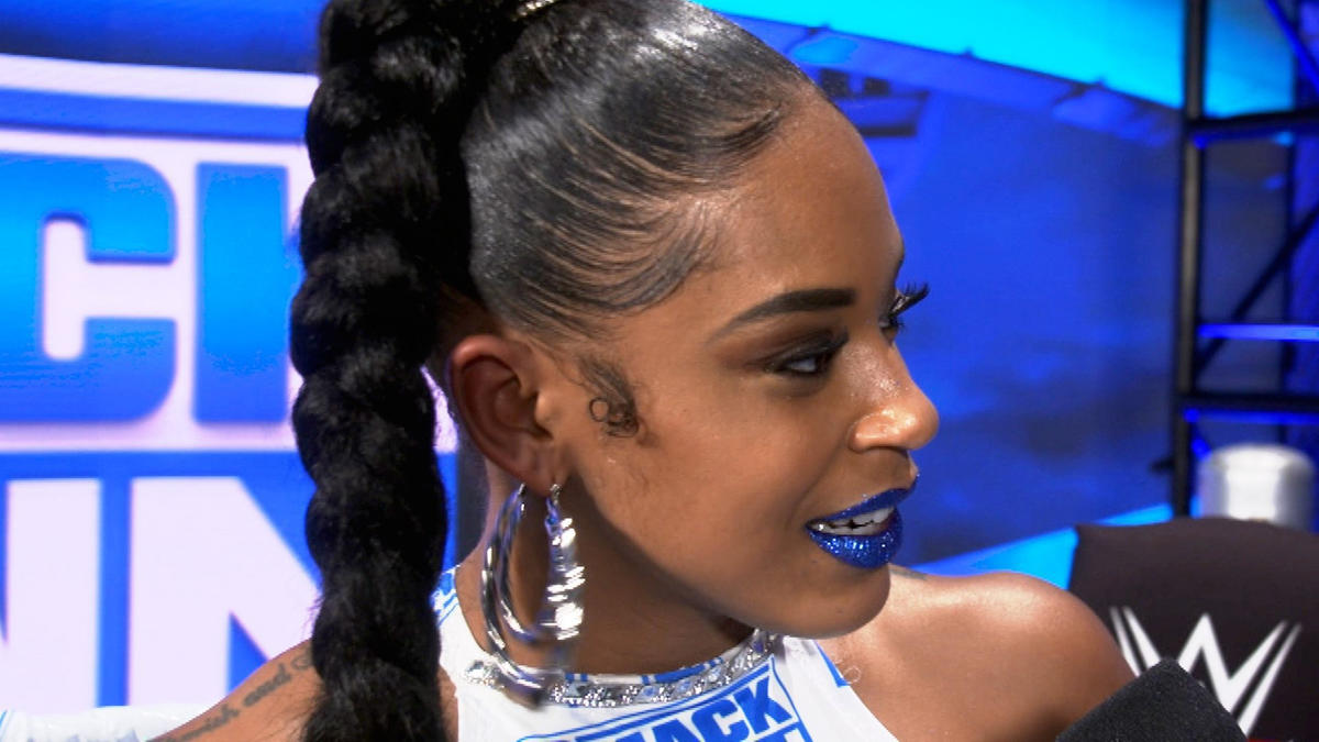 Bianca Belair shows off her custom-made gear: WWE Network Exclusive, Oct.  23, 2020 | WWE