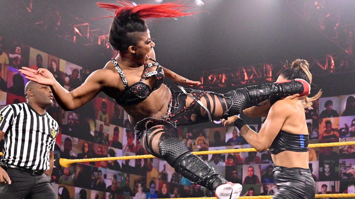 Ember Moon & Toni Storm vs. Dakota Kai & Raquel González: WWE NXT, Nov. 18, 2020 | WWE