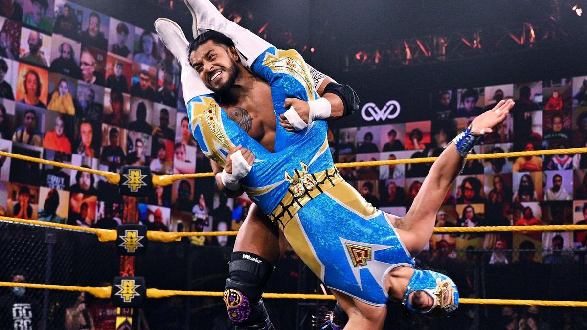 Santos Escobar vs. Gran Metalik – NXT Cruiserweight Championship Match: NXT New Year's Evil, Jan. 6, 2021 | WWE