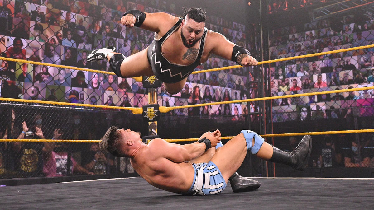 Bronson Reed vs. Austin Theory: WWE NXT, April 27, 2021 | WWE