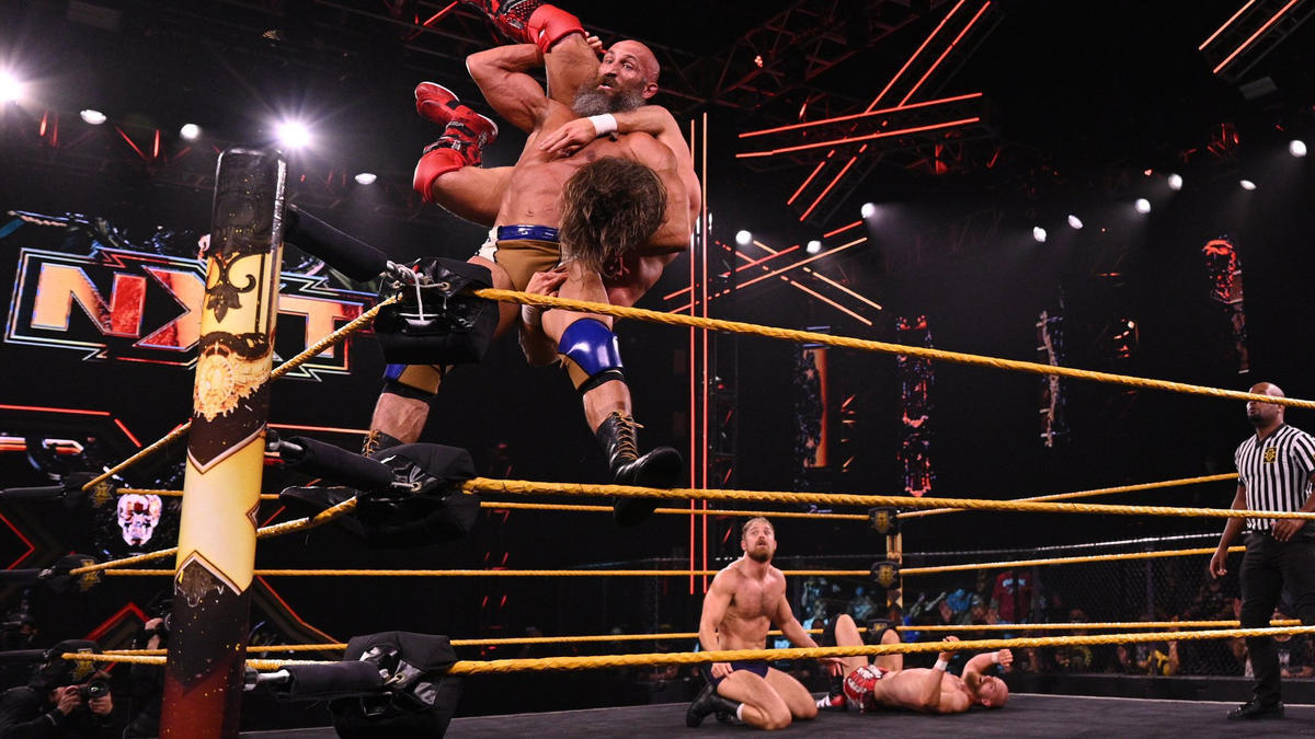 Tommaso Ciampa & Timothy Thatcher vs. Grizzled Young Veterans – Tornado Tag Match: WWE NXT, June 15, 2021 | WWE