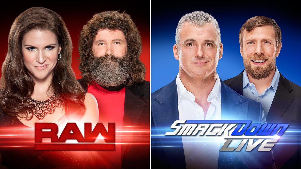 Resultado de imagem para raw e smackdown live