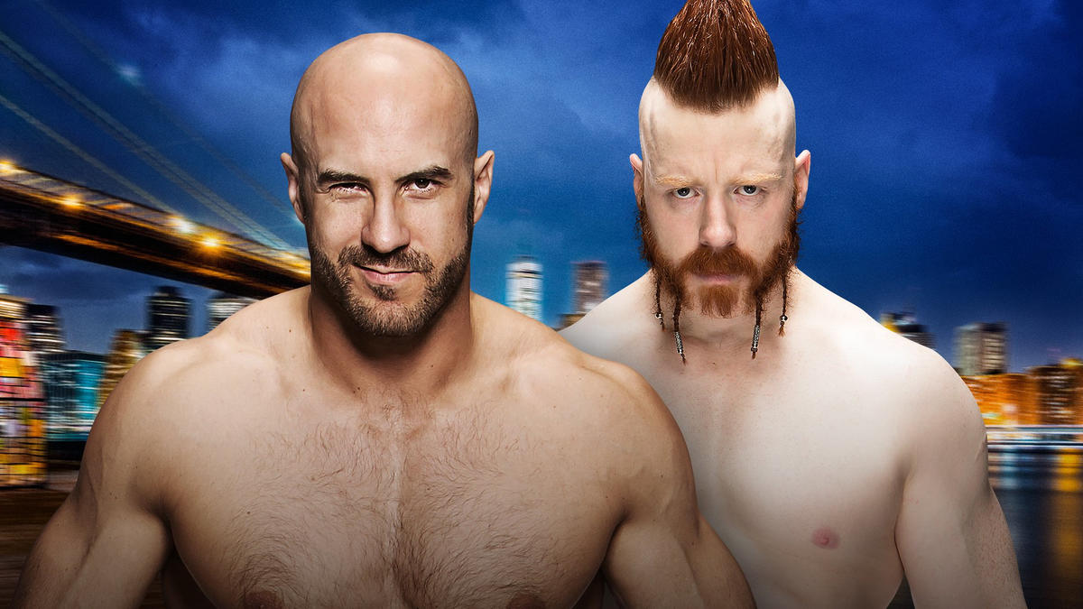 Cesaro & Sheamus were tied at 3-3