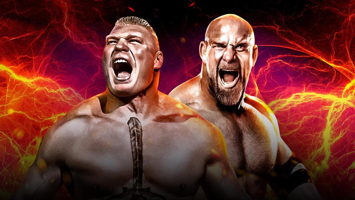 Brock Lesnar Vs Goldberg