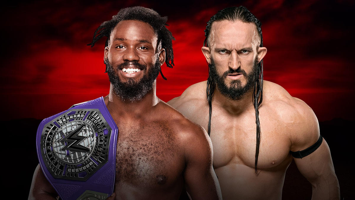 Image result for Neville against Rich Swann