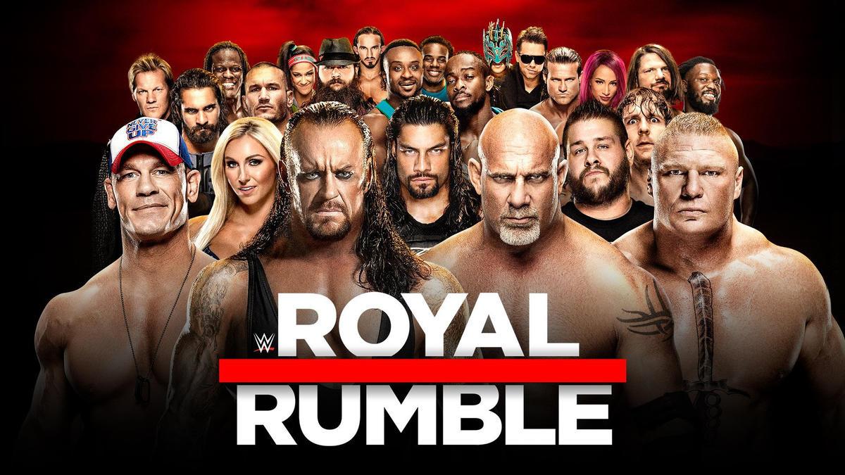 Resultado de imagen para royal rumble 2017 poster