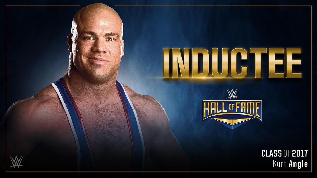 Kurt Angle to be inducted into WWE Hall of Fame Class of 2017; tickets available now